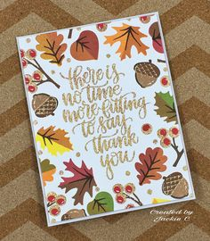 Sunny Studio Stamps: Autumn Splendor Fall Leaves Card by Jackie C. Fall Cards, Holiday Cards, Christmas Holiday, Mail Art Envelopes, Calligraphy Cards, Sunnies Studios, Studio Cards, Leaf Cards, Card Tags
