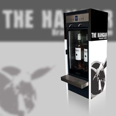 Branded Modular wine dispenser for On-trade customer