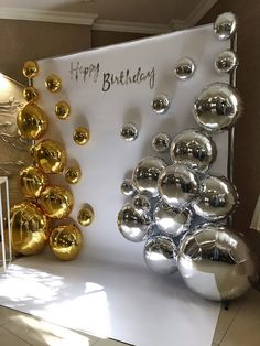Birthday Balloon Decorations, Birthday Party Decorations, Birthday Parties, Backdrops For Parties, Anniversary Parties, Party Time, Diamond Earrings, Events, Crafts