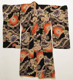 Kimono  Date: mid-20th century Culture: Japanese Medium: silk
