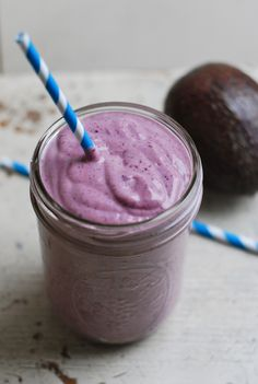 #Recipe: Blueberry Avocado #Smoothie