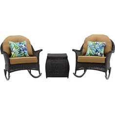 Hanover San Marino 3 Piece Rocking Chat Set Country Cork -- See this great product.