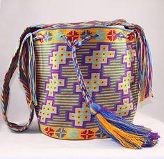 Mochila Wayuu Nativo Style tejida amano en 1 hebra por NativoStyle