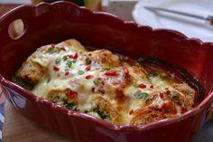 rulouri de pui cu spanac si cascaval Lasagna, Mashed Potatoes, Deserts, Food And Drink, Gluten Free, Ethnic Recipes, Meal, Bebe, Lasagne