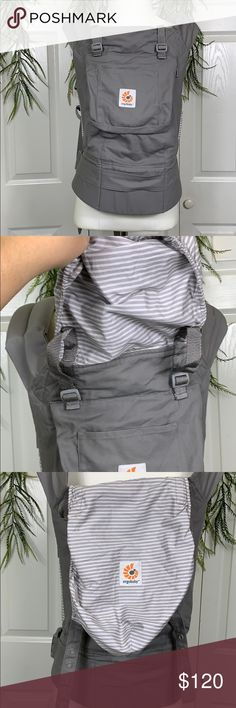939c147864d Original Ergo Baby Carrier in Misty Gray It s brand new