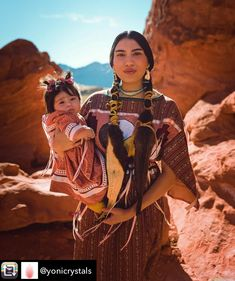 Native American Heritage Month, Native American Women, Native American Fashion, Native Indian, Mother And Child, Nativity, Wonder Woman, Culture, Fashion Outfits
