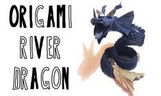 Origami River Dragon - (Riccardo Foschi) - Part 1: Head's Pre-Creasing