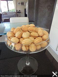 Oreschki - List of the best food recipes Dutch Recipes, Russian Recipes, Sweet Recipes, Baking Recipes, Cake Recipes, Dessert Recipes, Authentic Polish Pierogi Recipe, Cheese Pierogi Recipe, Russian Dishes