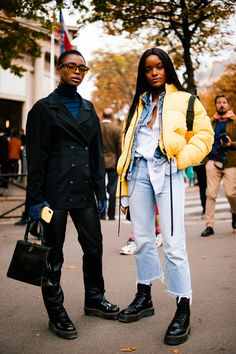urban fashion The Very Best Street Style From Paris Fashion Week Fashion Guys, Black Women Fashion, Fashion Advice, Look Fashion, Fashion Outfits, Womens Fashion, Fashion Trends, Cheap Fashion, High Fashion