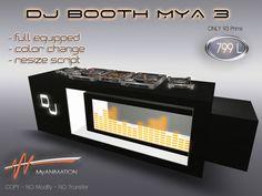 DJ BOOTH MyA 3