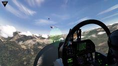 F-18 simulator cockpit, Super Hornet