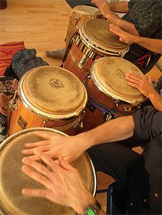 ..***** .learn to play congas ~in the process of doing this