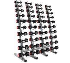 Rack for 20 Pairs of Dumbbells