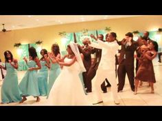 Consider a fun Bridal Party Dance. Very cool wedding dance!