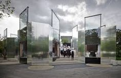 Image result for curved glass architecture