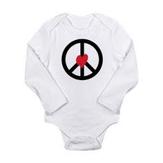 Love Peace Body Suit