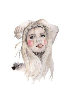 Resultado de imagen de watercolor illustration