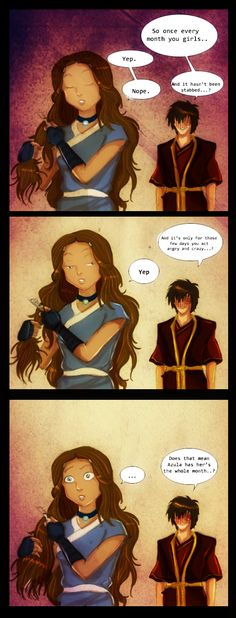 monthly periods - Avatar: The Last Airbender Photo (33796605) - Fanpop
