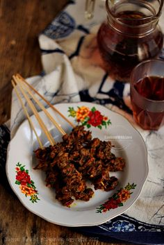 Cooking With Love: Sate Kerang Indonesian Cuisine, Indonesian Recipes, Skewer Recipes, How To Grill Steak, Fish And Seafood, Soul Food, Street Food, Asian Recipes, Food Photography