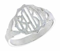 Sterling Silver Round Face Baby Ring / Kid's Ring / Toe Ring (Available in Size 1 to 5), size 4.5 Sabrina Silver. $6.95
