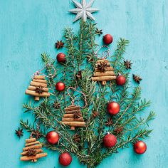 Tree of Life! Infuse your home with the beautiful scent of Christmas with these crafty decorating ideas! #Woolworths #Christmas #Christmastree #Inspiration