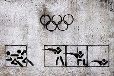 Tammam Azzam, 'Syrian Olympic', 2013. Image courtesy the artist.
