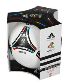 Official ball for UEFA Euro 2012 Tango 12 Adidas Mary Lou Retton, Euro 2012, Product Packaging, Package Design, Tango, Premier League, Balls, Soccer, Wrestling
