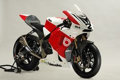Bimota HB4 Moto2 racing motorcycle