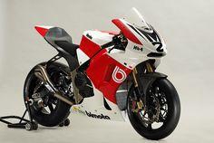 Bimota HB4 Moto2 racing motorcycle