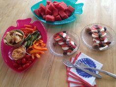 Summer feasting