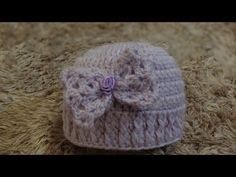 Passo a passo Touca / Gorro para Bebê feita pela Professora Simone Especialista em Crochê para Bebê( 1- Primeira parte) ( visitem a professora Simone http://...