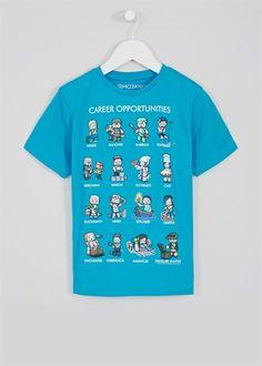 Boys Minecraft T-Shirt (5-12yrs)