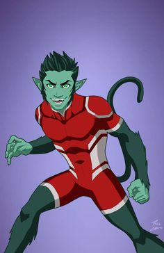 Beast Boy [Overt] by Roysovitch on DeviantArt Beast Boy, Dc Comics Superheroes, Dc Comics Characters, Dc Comics Art, Comic Books Art, Comic Art, Book Art, Marvel Dc, Avengers Coloring Pages