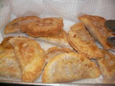 Some people call these fried pies or fritters but my mama called them jacks. When I make these I always think about my daddy because he loved them so much. The only difference in this recipe and the way my mama made them is that she used canned biscuits for the dough, which saves time and is also good. I have done these both ways but really perfer this dough if I am not time limited.I also use this same dough recipe when I make Apple or Peach Jacks.