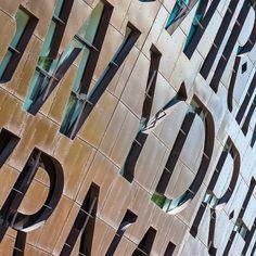 Wales Millennium Centre Cardiff Bay. Architect: Percy Thomas Architects. #ukcoastwalk Photo: Quintin Lake www.theperimeter.uk