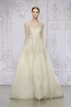 Monique Lhuillier Wedding Dresses 2015 - MODwedding