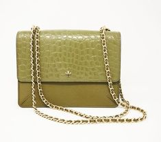 e9a377997c9 Available to rent on DesignerShare.com Best Handbags, Crocodile,  Convertible, Tory Burch