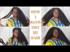 IG:zarinaolu Follow the tag #West African... - Beautiful Women of West Africa Long Natural Hair, Natural Hair Styles, Blow Dry, West Africa, Beautiful Women, Sari, African, Fashion, Saree