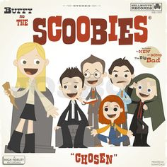 Buffy and the Scoobies by joebot on Etsy