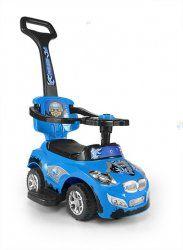Jeździk Happy 3w1 niebieski