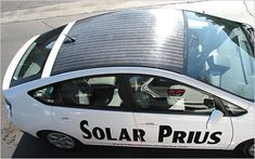 The Toyota Prius, with solar panels to run the air conditioning and extend the electric mileage by 20.
