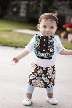 Baby Tuxedo Dress Tutorial