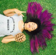 KAREN POLINESIA Dove Cameron Style, Aradia, Maria Jose, Fantasy Hair, Beautiful World, Kawaii Anime, Dyed Hair, Hair Color, Dreadlocks
