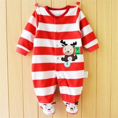 2017 Baby Romper Footed Autumn Baby Girl Clothing Sets Roupas Bebe Newborn Baby Clothes Spring Baby Boy Clothes Infant Jumpsuits #>=#>=#>=#>=#> Click on the pin to check out discount price, color, size, shipping, etc. Save and like it!
