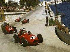 1958 GP Maroko (Hawthorn & Musso) Ferrari Dino 246