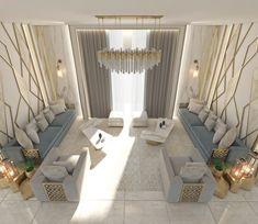 Moroccan majlis on Behance Home Room Design, House Design, Luxury Living Room, Luxury Living Room Design, Home Design Living Room, Luxury Dining Room, Luxury Living, Living Room Design Decor, House Interior Decor