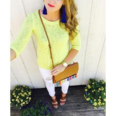 Instagram~ @whatcourtwore // Spring Brights  Shop my #ootd here:  www.liketk.it/2hMcQ