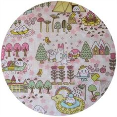 kawaii, mochi pink   #fabric #mochi