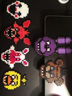 Hey, I found this really awesome Etsy listing at https://www.etsy.com/listing/256699009/fnaf-magnet-perler-bead-set