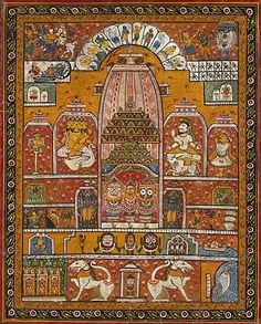 Jagannath Theme in Pattachitra painting
